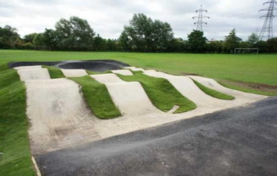 Backyard Bmx Pump Track : Backyard Bmx Track StepbyStep Plans ? Modern Carpentry