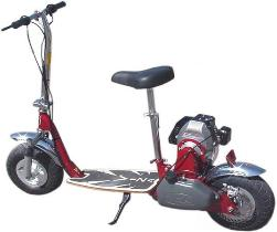 Gene s bmx applauds to the crack downs on motorized scooters for Gas powered motorized scooter
