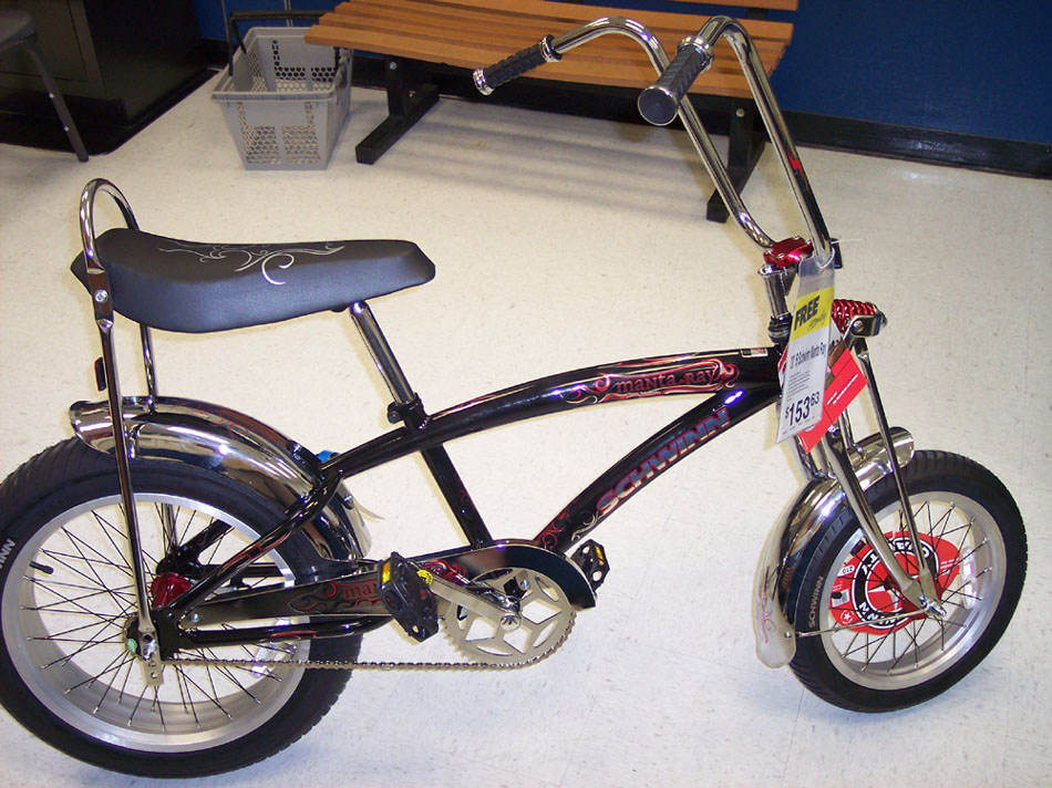 Schwinn Sting Ray Bicycle Information